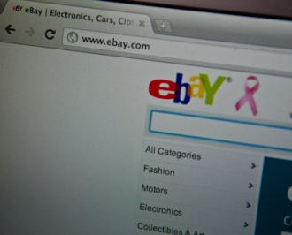 ebay homepage © Kai-Thomas Krause